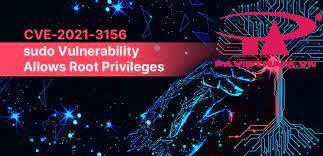 Linux-CVE-2021-3156 sudo command
