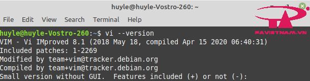 hướng dẫn sử dụng lệnh vi /vim trên linux