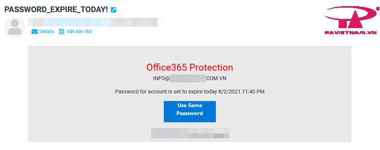 Giả mạo Email - 1 số hình thức, thủ đoạn lừa đảo phổ biến