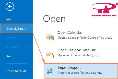 Phục hồi dữ liệu email từ bản backup Outlook của bạn